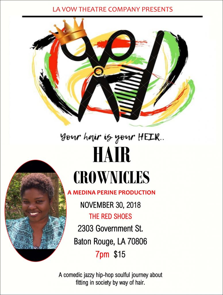 LaVow and Medina Perine Present Hair Crownicles