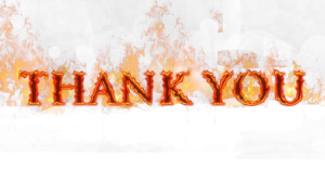"Thank You for Supporting ""Women on Fire""!"